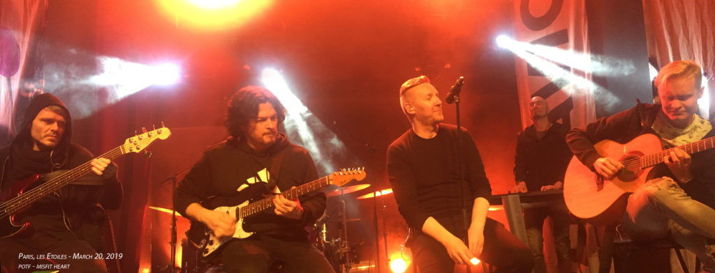 Poets of the Fall, Paris March 20, 2019